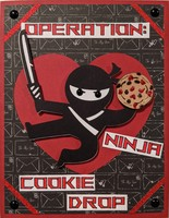 Operation: Ninja Cookie Drop