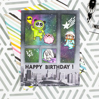 Galaxy Birthday Card
