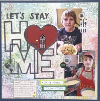 Let's Stay Home/ Stacy's You Are Here Challenge