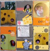 Say cheese-story book forest