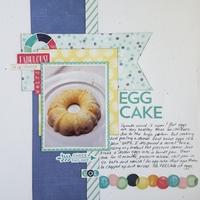 (Hardboiled) Egg Cake