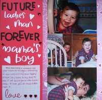 Future Ladie's Man, Forever Mama's Boy