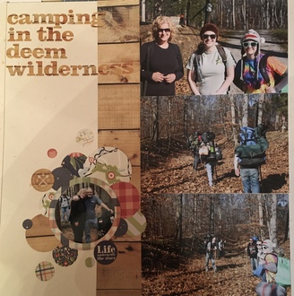 Camping in the Deem Wilderness