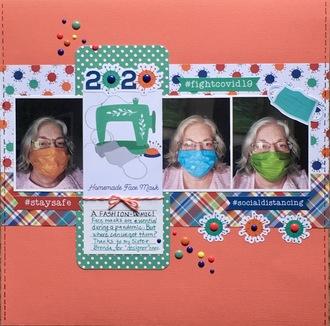 2020 Homemade Face Mask