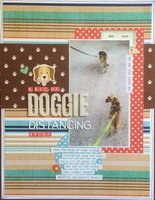 doggie distancing