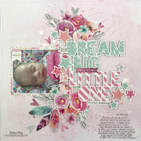 Dream Big Little One Layout