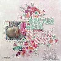 Dream Big Little One Layout