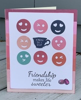 Friendship Emoji Card