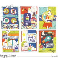 Simple Stories Birthday Blast Cards