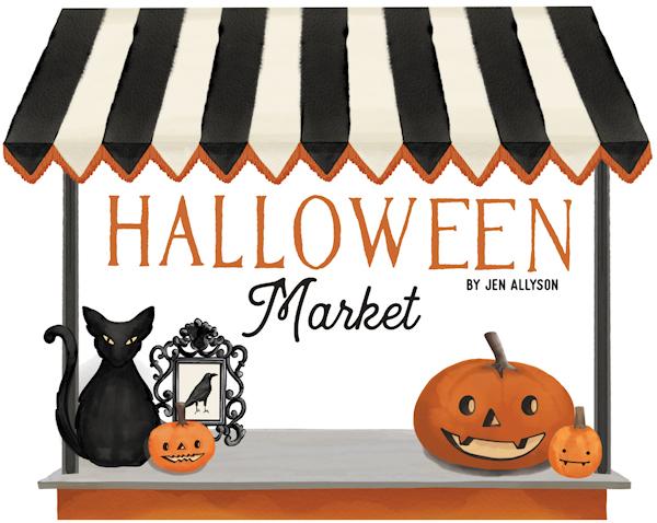 Halloween Market Carta Bella Jen Allyson