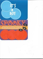 It's a Boy & Spooky cards