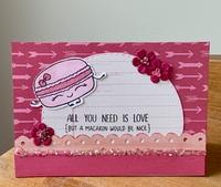 Macaron Card