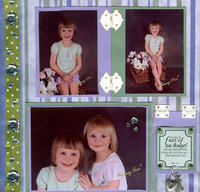 Picture Perfect in Purple & Green