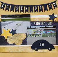 2020 Senior Parking Lot