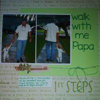 Walk with me Papa