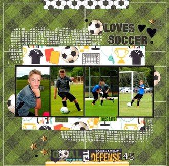 Loves Soccer