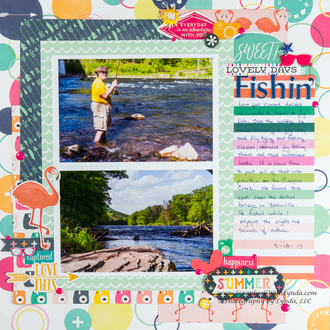 Fishin' - How to make your own journal spot