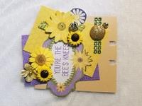 Bee-utiful memorydex card by Monique Nicole Fox