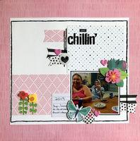 just chillin' (July 2020 Becky Fleck Sketch Challenge 180)
