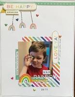his rainbow vision