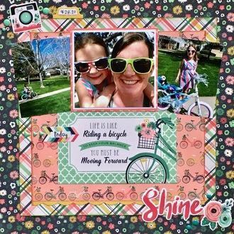 Shine - Riding Bikes
