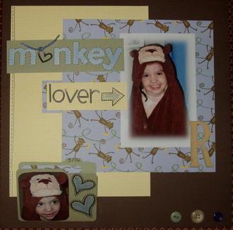 monkey lover- Challenge #2