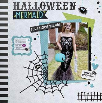 Halloween Mermaid