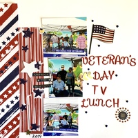 Veteran's Day TV Lunch
