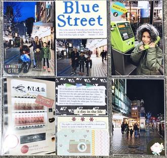 Blue Street in Yokosuka