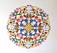 Sticker mandala