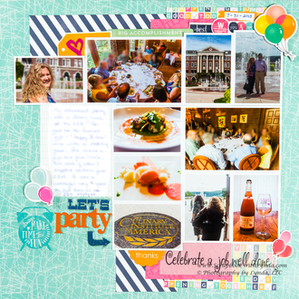 Tips & Techniques for Multiple Photos on a Scrapbook Layout