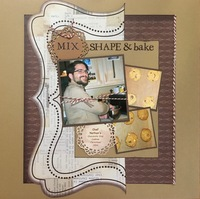 Mix, shape & bake