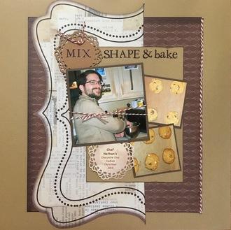 Mix, shape & bake