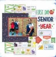First Day Senior Year