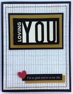 Loving You Card