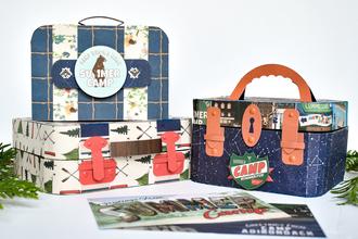Sumer Camp Paper Luggage Set