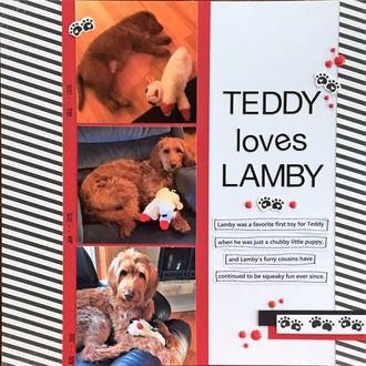 Teddy Loves Lamby