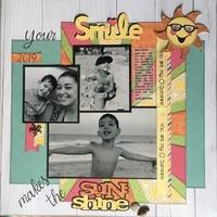 Your smile makes the sun shine