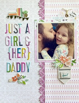Just a girl & her Daddy