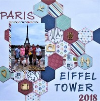 Paris - Eiffel Tower 2018