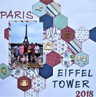 Paris - Eiffel Tower 2018