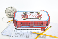 School Rules Uniform Pencil Box