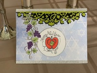 Grape vine card