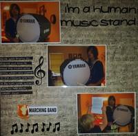 I'm a Human Music Stand