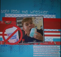 Don't Feed the Wrestler
