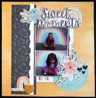 Sweet Moments (Sept 2020 Becky Fleck Sketch Challenge #188)