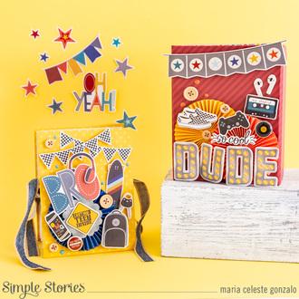 Mini Album In A Box For Teenage Boys