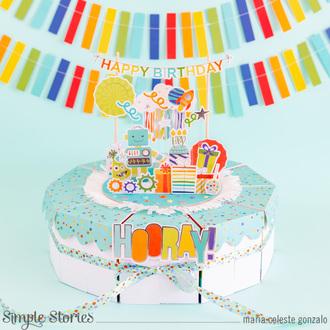 Happy Birthday Surprise Cake