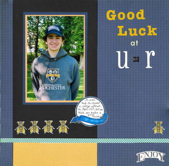 Good Luck at UofR