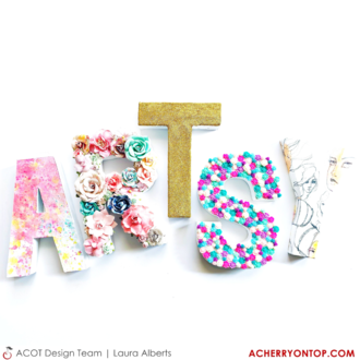 ARTSY Letter Decor
